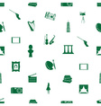 Art icons pattern seamless eps10 vector