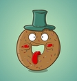 Cartoon donut vector
