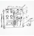 City sketch vector