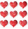 Heart tattoo icon vector