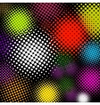 halftone multicolor background eps 8 vector