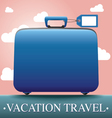 Luggage and travel vacation vector