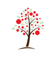 Apple tree symbolic vector