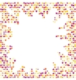 Patterned background with small spots vector