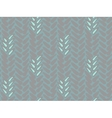 Pattern with stylized wheat and rye plant motifs vector