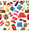 Seamless texture with preserve food vector