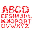 Alphabet - blots letters vector