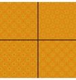 Set of star polka dot patterns vector