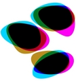 Interactive multicolored bubbles eps 8 vector