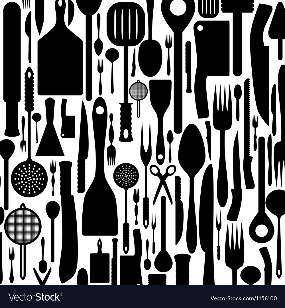Cutlery background vector | Price: 1 Credit (USD $1)