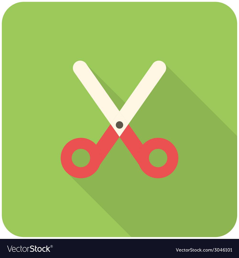 Scissors icon vector | Price: 1 Credit (USD $1)