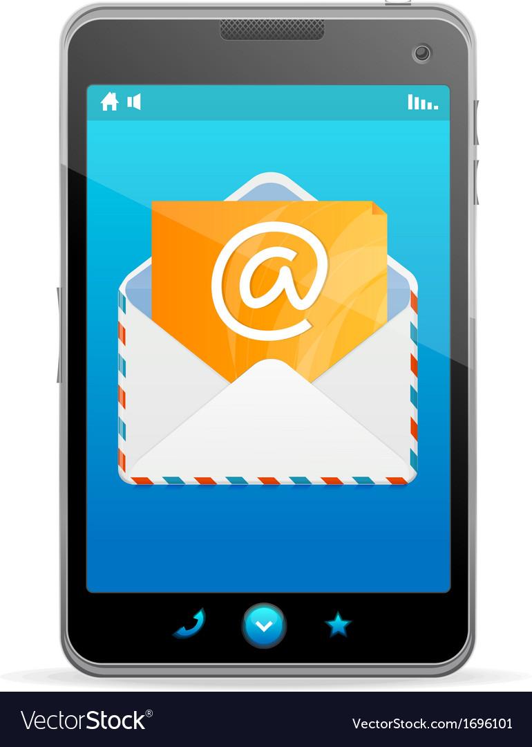 Send a letter icon vector | Price: 1 Credit (USD $1)
