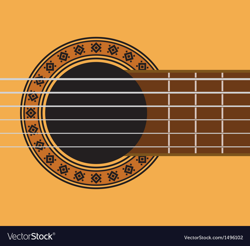 Guitar sound hole vector | Price: 1 Credit (USD $1)