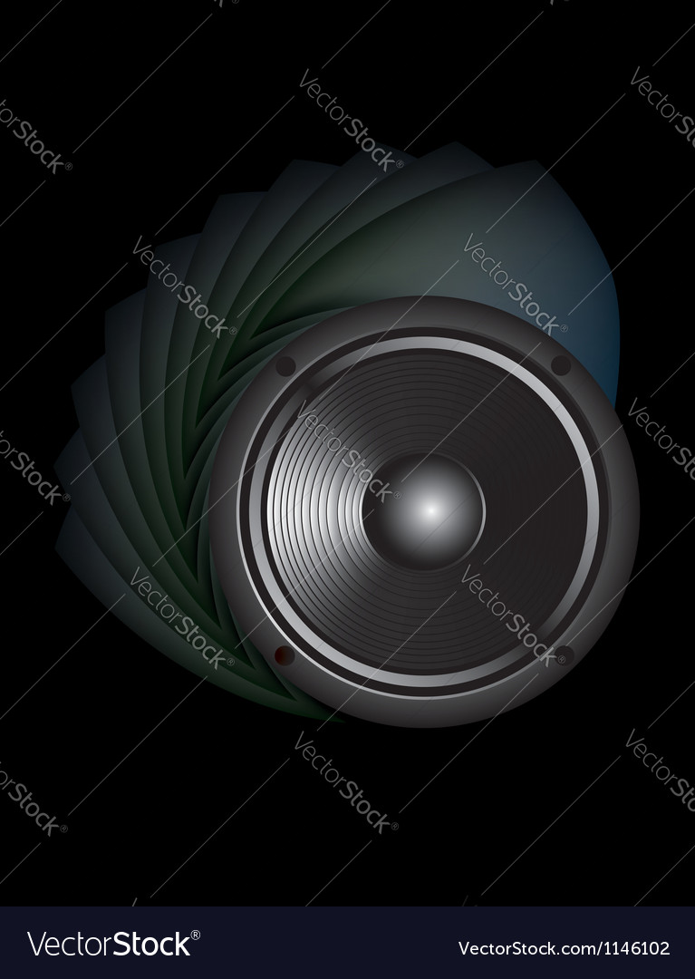 Sound loud speaker vector | Price: 1 Credit (USD $1)