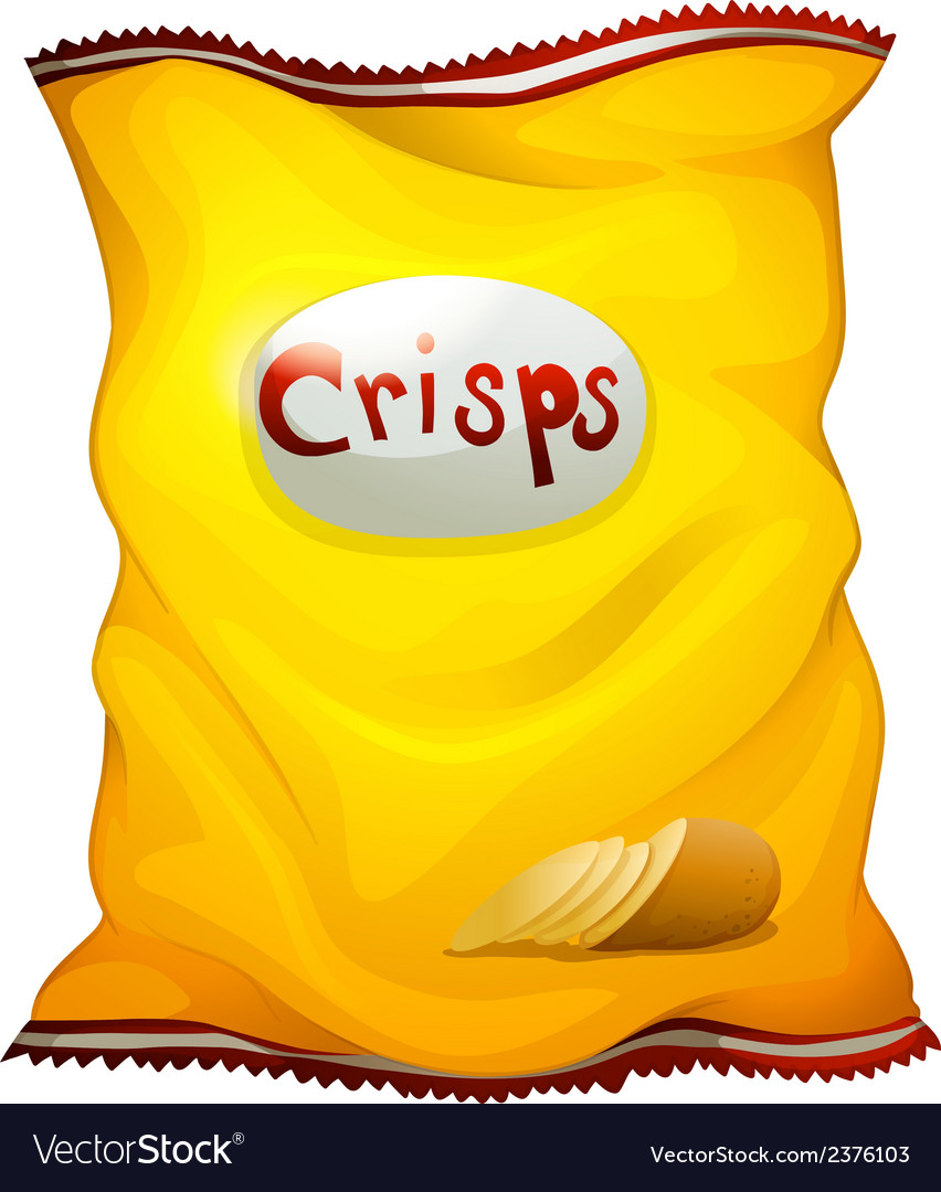 A pack of crisps vector | Price: 1 Credit (USD $1)
