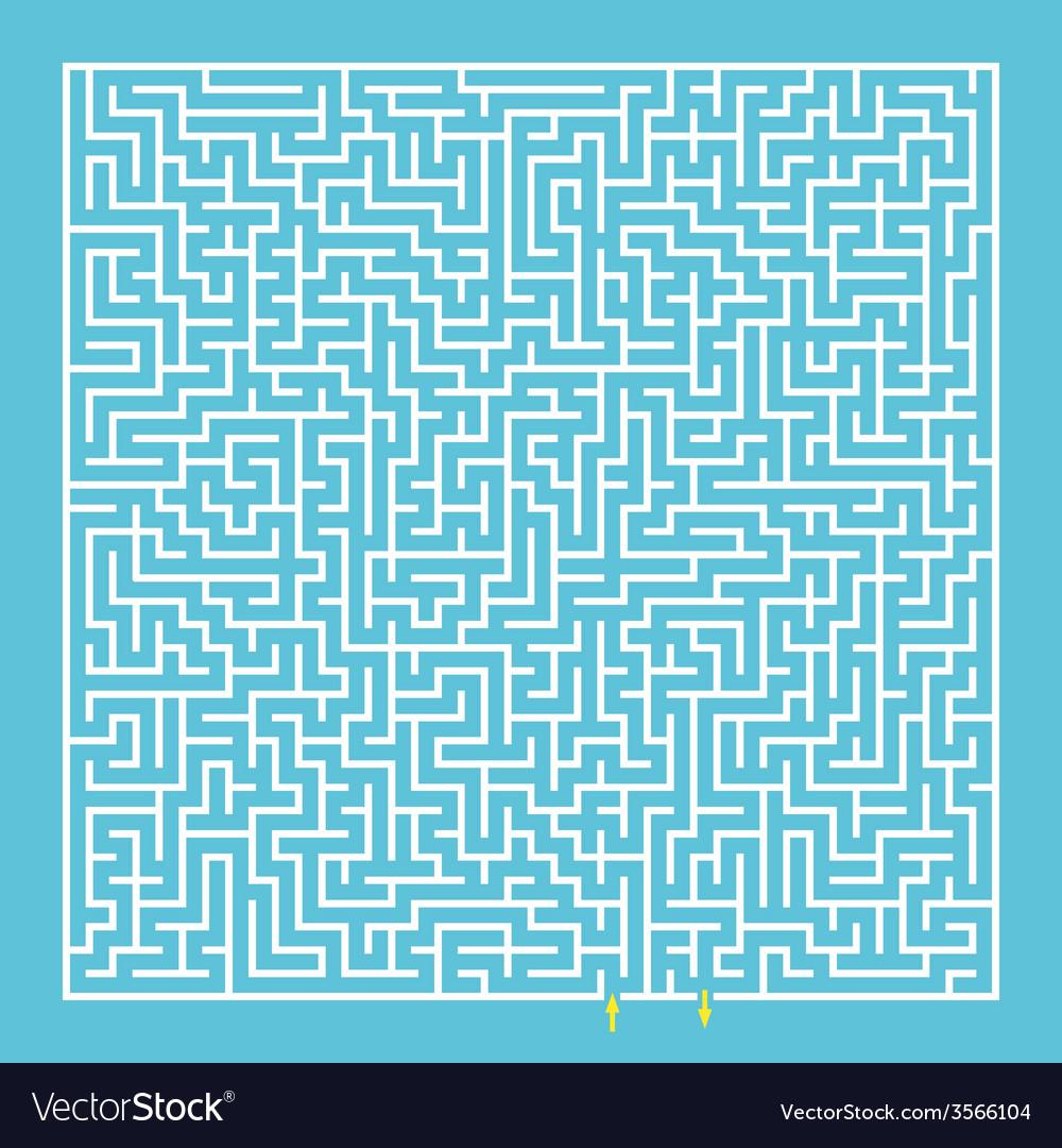 Maze labyrinth vector | Price: 1 Credit (USD $1)