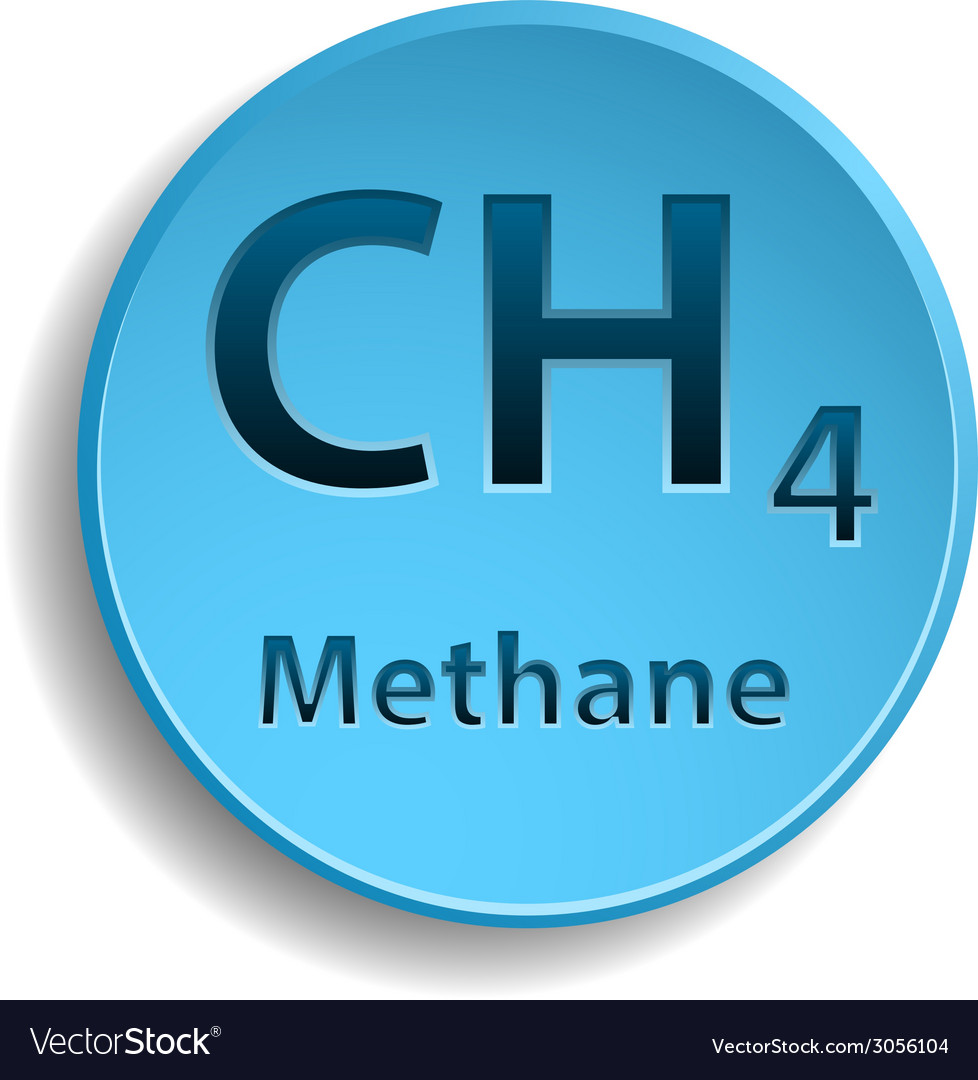 Methane vector | Price: 1 Credit (USD $1)