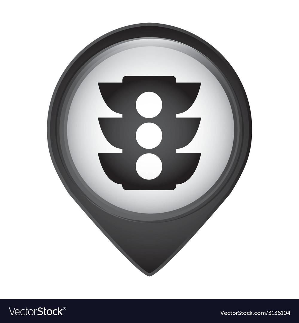 Semaphore design vector | Price: 1 Credit (USD $1)