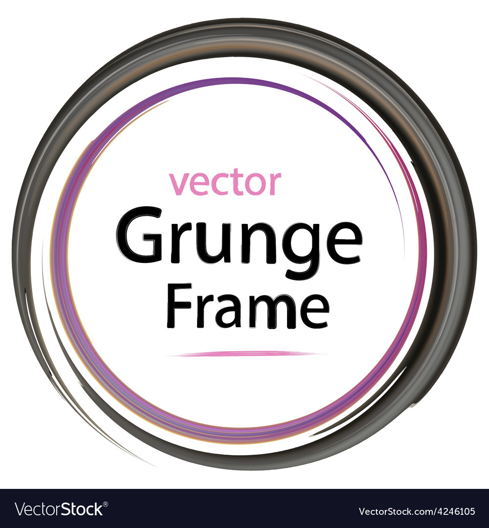 Grunge frame retro vector | Price: 1 Credit (USD $1)