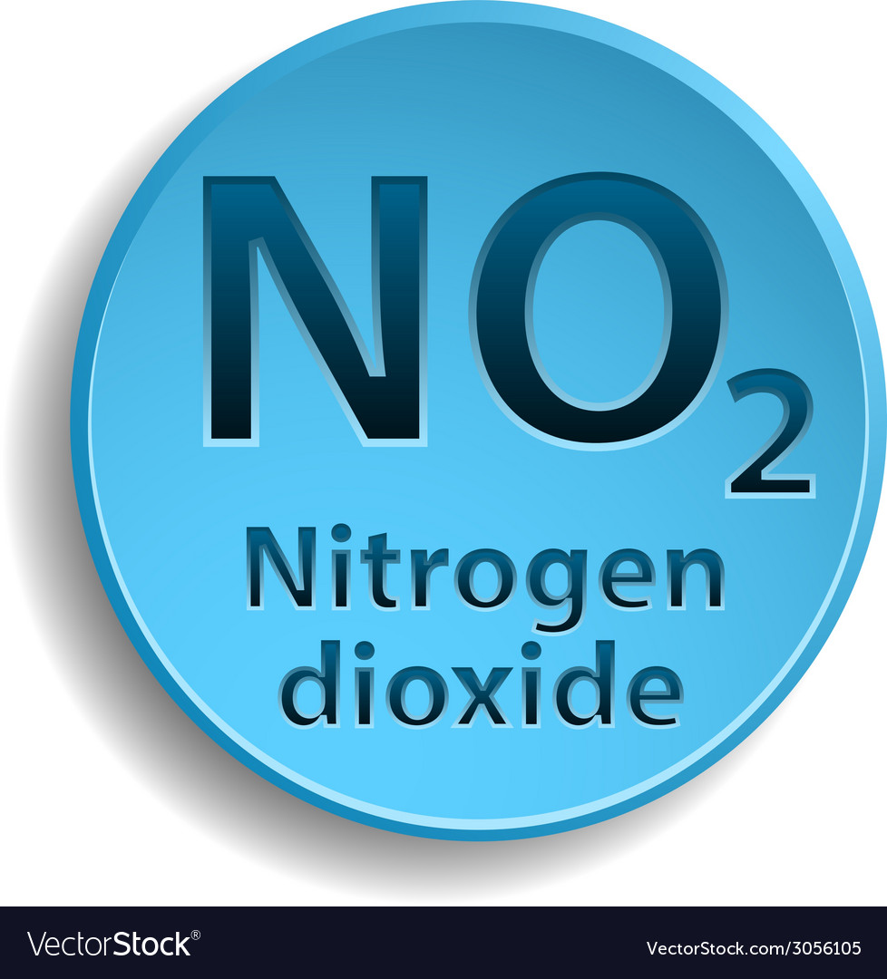 Nitrogen dioxide vector | Price: 1 Credit (USD $1)