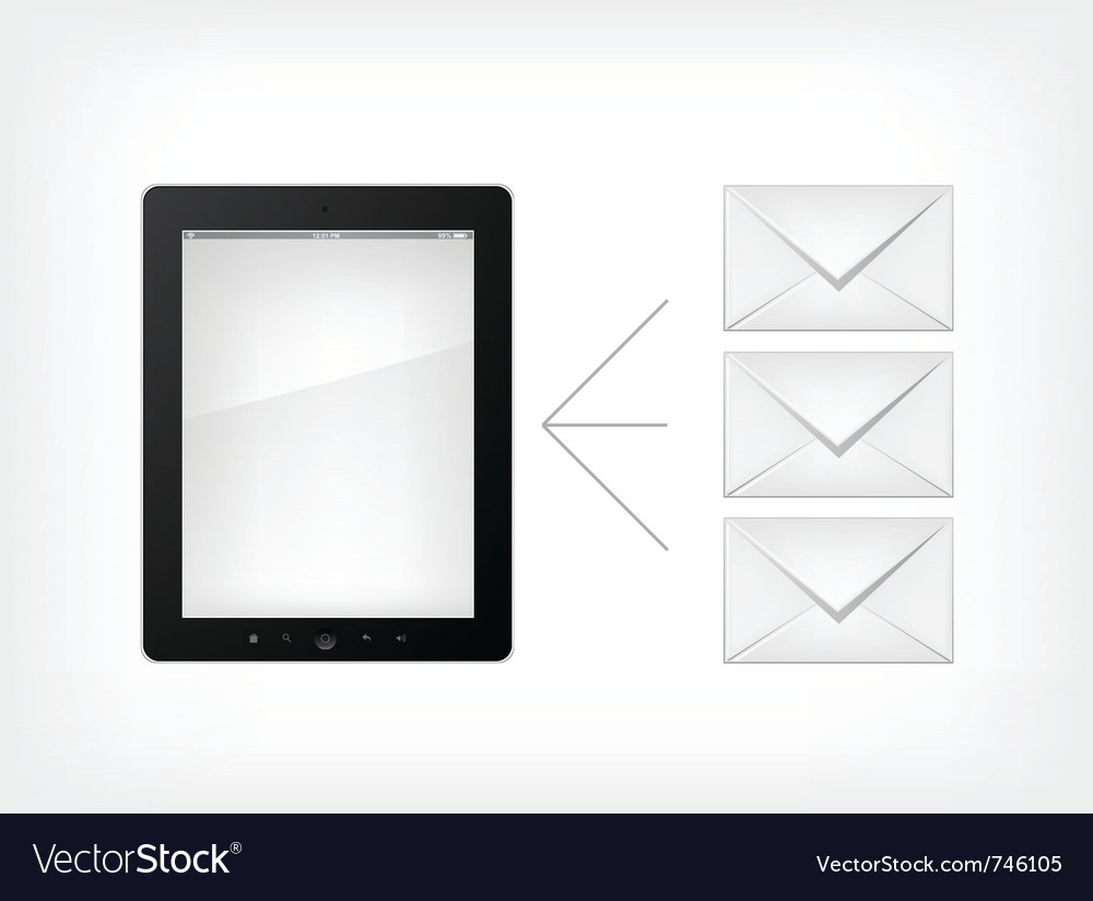Set of tablet pc vector | Price: 1 Credit (USD $1)