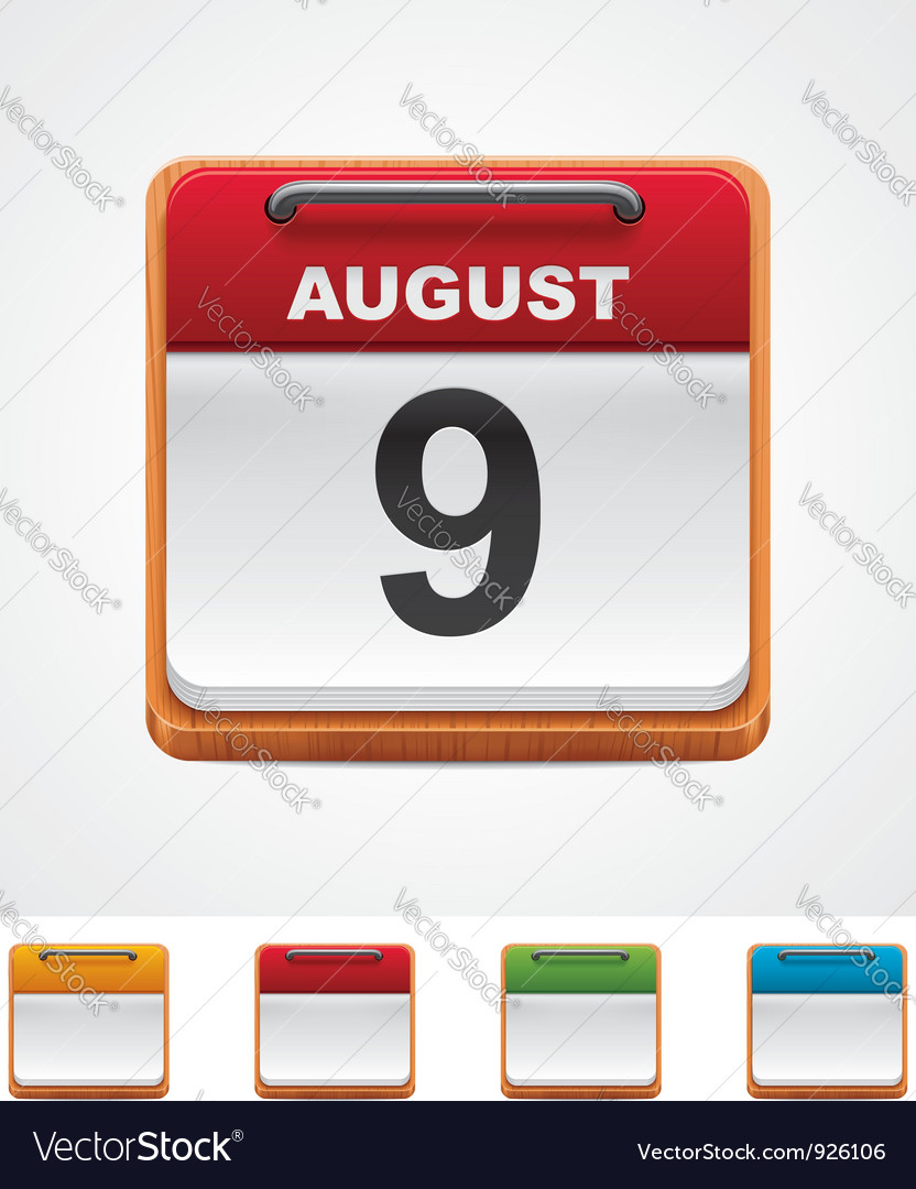 Calendar icon vector | Price: 3 Credit (USD $3)