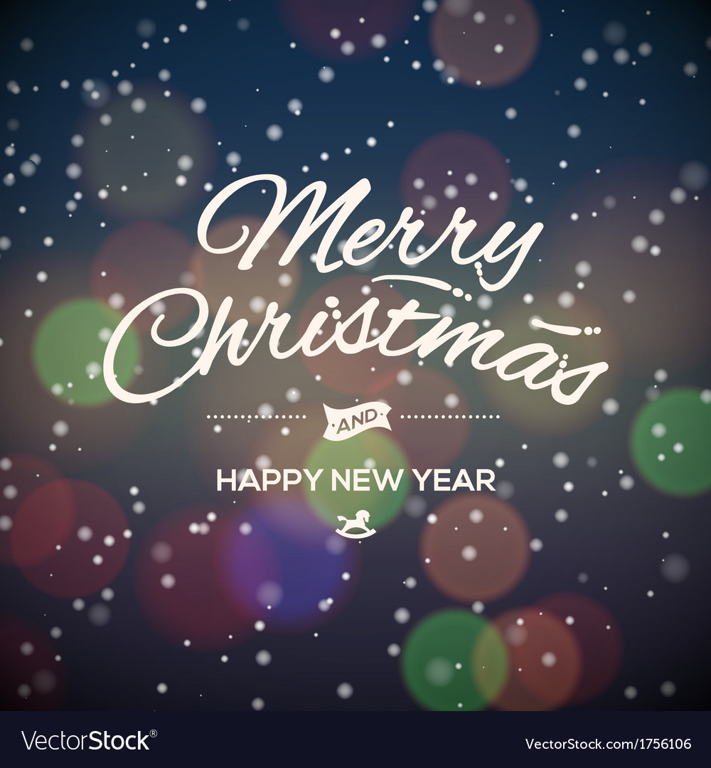 Merry christmas party design card vector | Price: 1 Credit (USD $1)