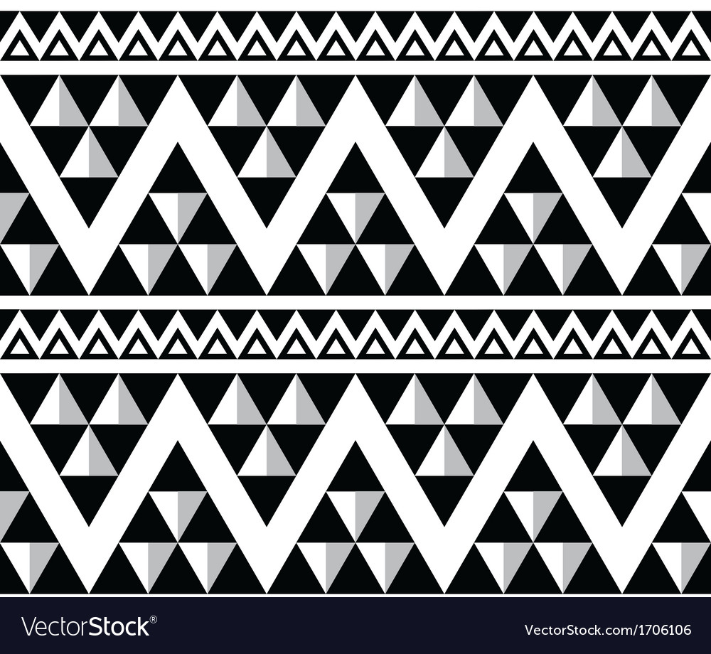 Tribal aztec abstract seamless pattern vector | Price: 1 Credit (USD $1)