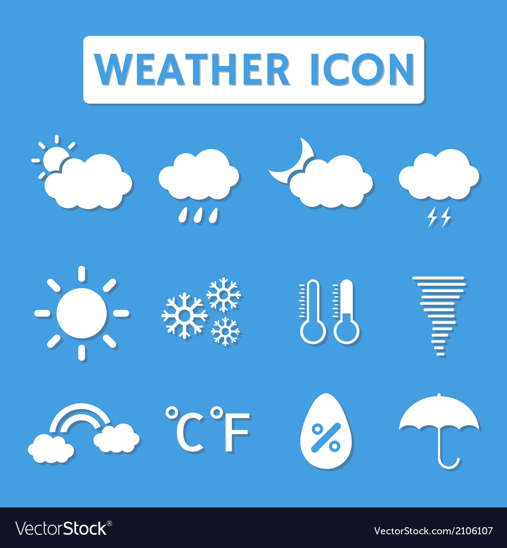 Weathericon vector | Price: 1 Credit (USD $1)