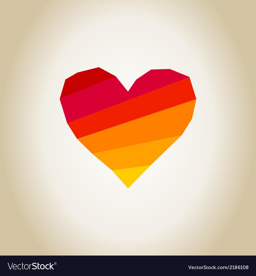 Scrappy heart vector | Price: 1 Credit (USD $1)