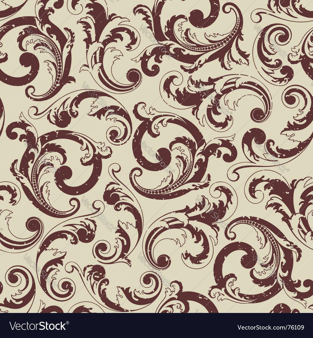 Baroque pattern vector   Price: 1 Credit (USD $1)