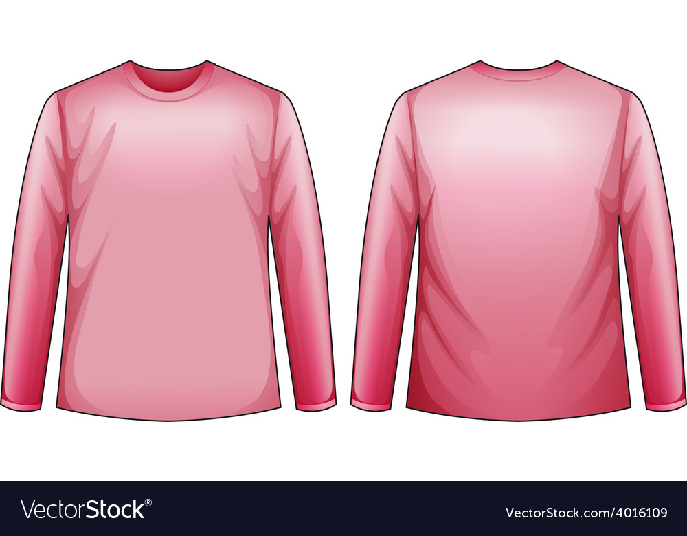 Pink shirt vector | Price: 1 Credit (USD $1)