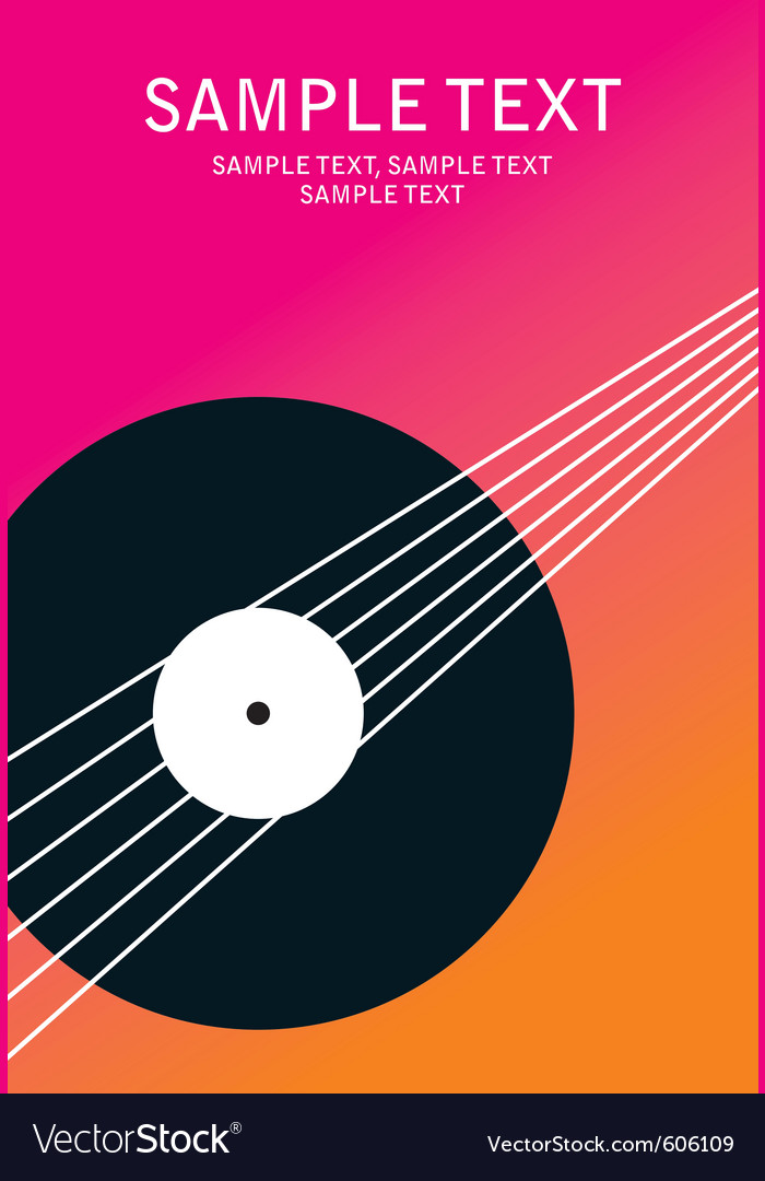 Poster music vector | Price: 1 Credit (USD $1)
