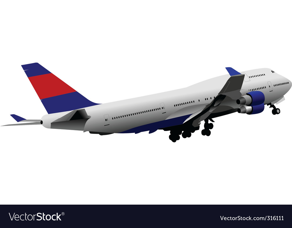 Plane vector | Price: 3 Credit (USD $3)
