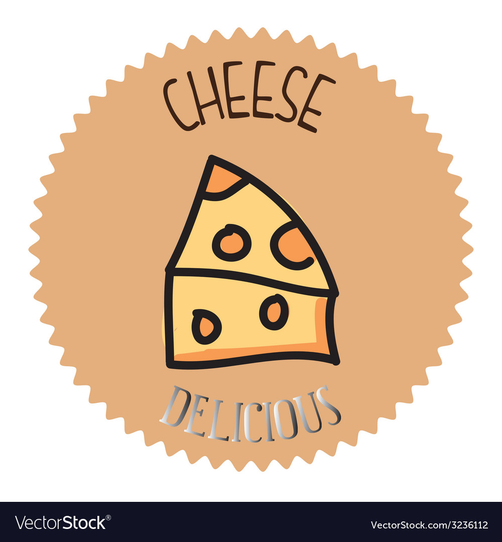 Cheese design vector | Price: 1 Credit (USD $1)