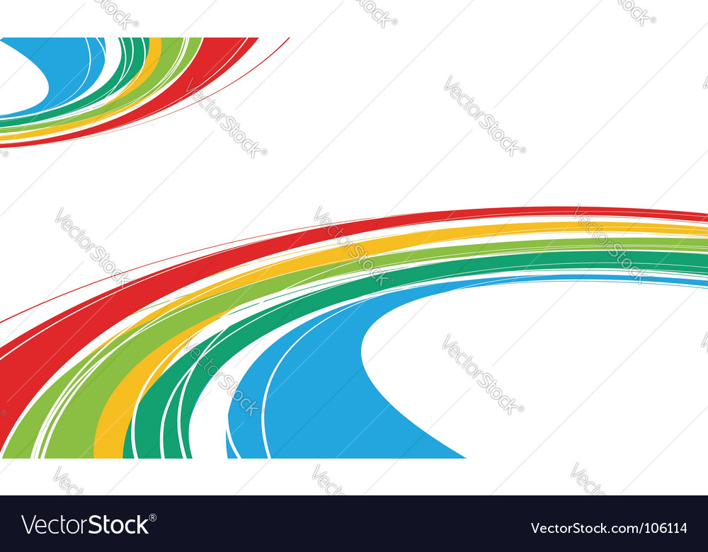 Rainbow wave vector   Price: 1 Credit (USD $1)