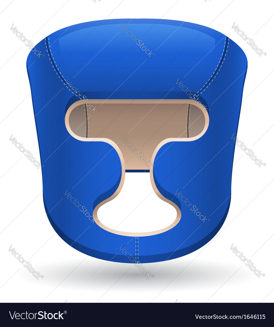 Boxing helmet vector | Price: 1 Credit (USD $1)