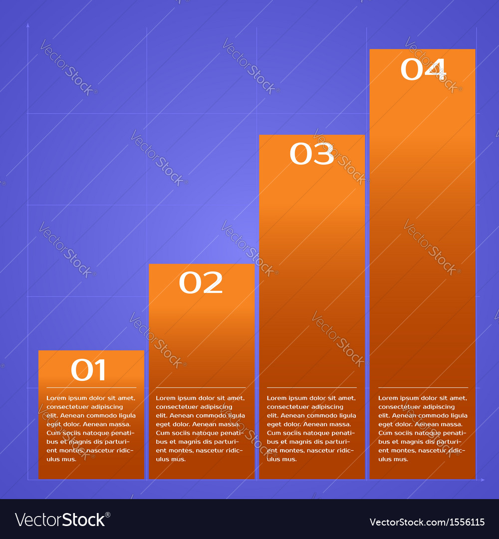Infographic chart vector | Price: 1 Credit (USD $1)