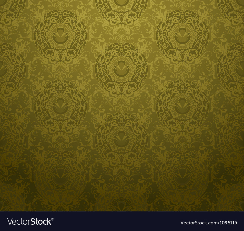 Seamless wallpaper background vector | Price: 1 Credit (USD $1)