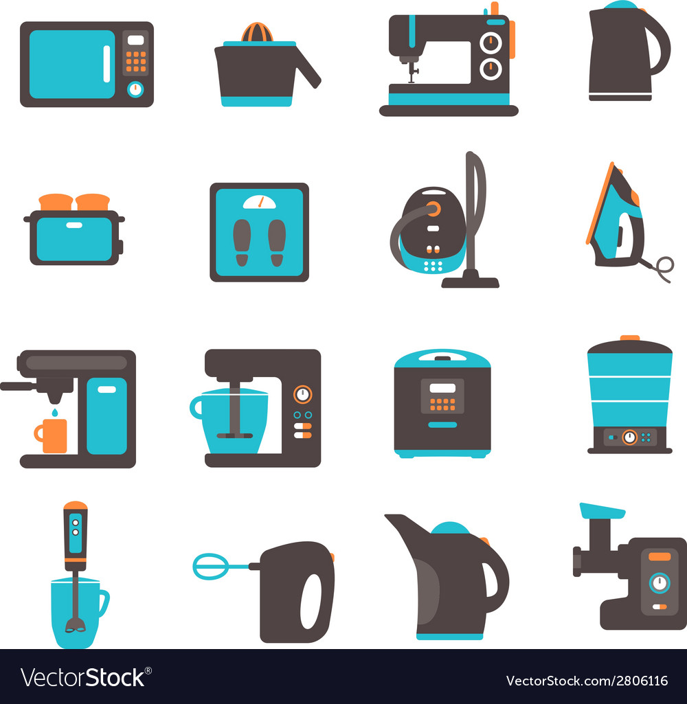 Icons with kitchen utensils vector   Price: 1 Credit (USD $1)