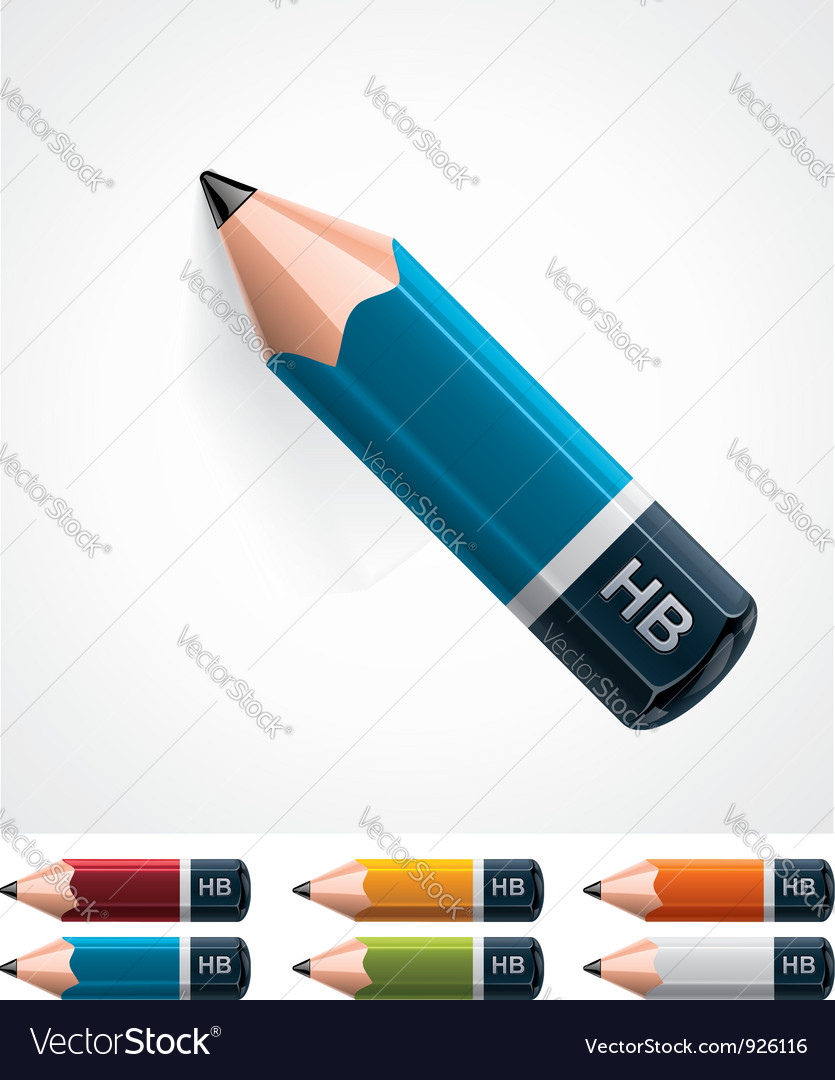 Pencil icon vector | Price: 3 Credit (USD $3)