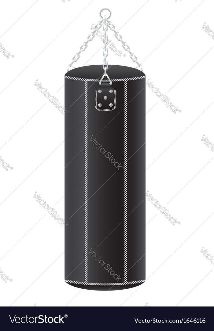 Punching bag for boxing 01 vector | Price: 1 Credit (USD $1)