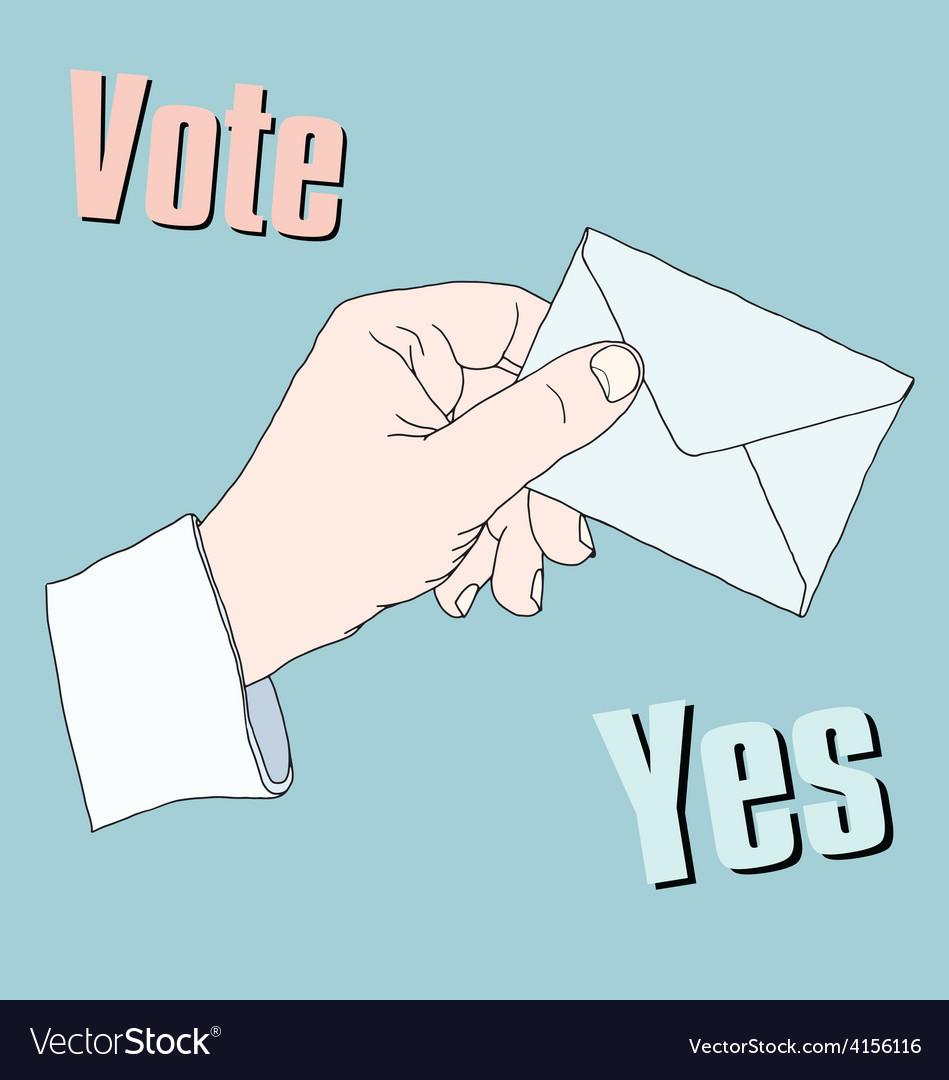 Vote vector | Price: 1 Credit (USD $1)