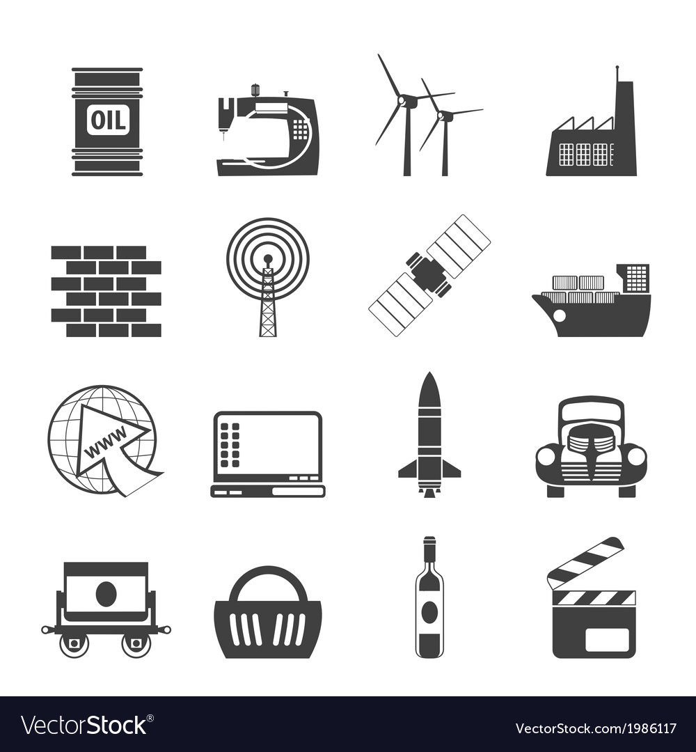 Business and industry icons vector | Price: 1 Credit (USD $1)