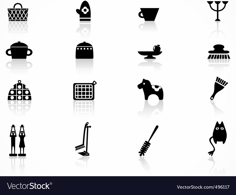 Kitchen icons vector   Price: 1 Credit (USD $1)