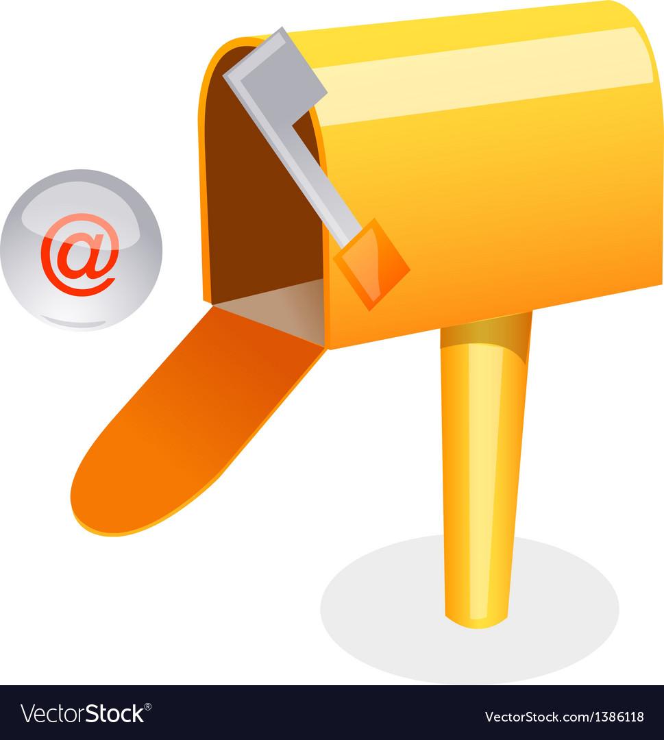 Letter box vector | Price: 1 Credit (USD $1)