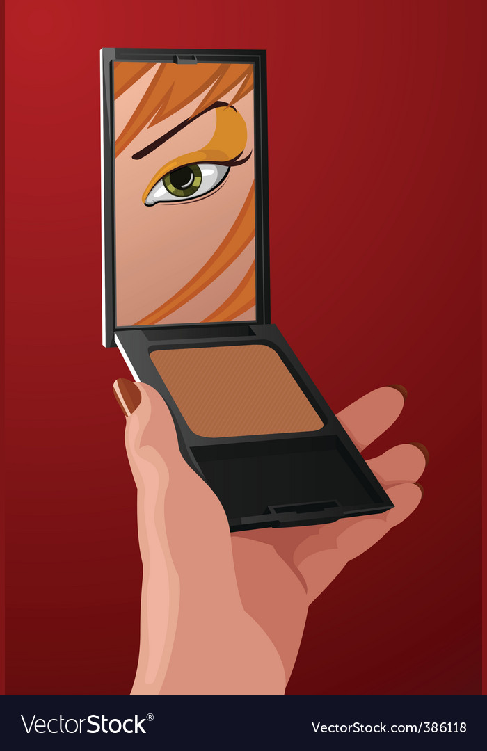 Makeup cartoon vector