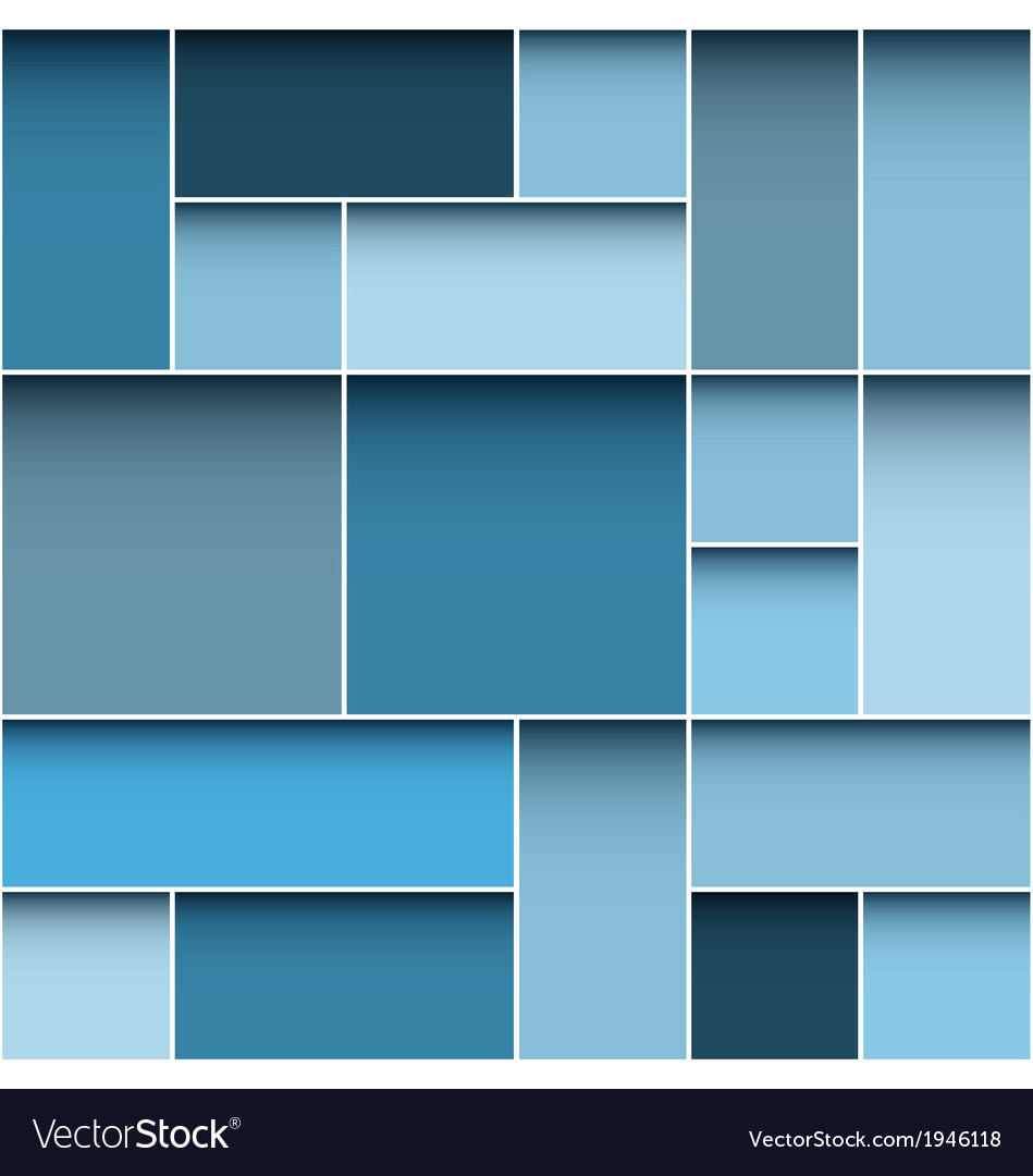 Modern blue background vector | Price: 1 Credit (USD $1)
