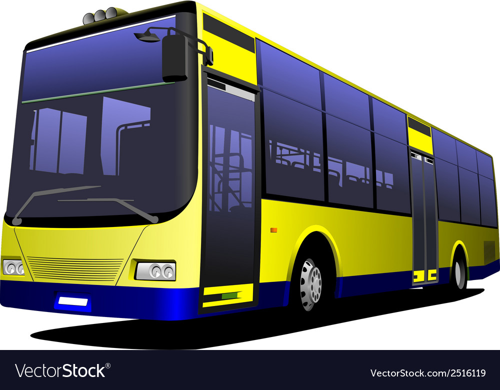 Al 0228 bus vector | Price: 1 Credit (USD $1)