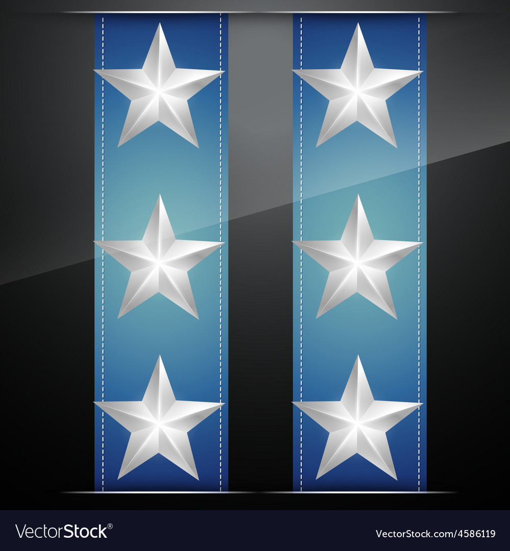 Glowing stars vector | Price: 1 Credit (USD $1)
